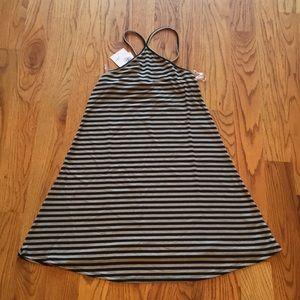 NWT LOVE,FIRE Striped dress.